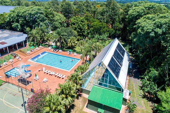 hotéis vista aérea